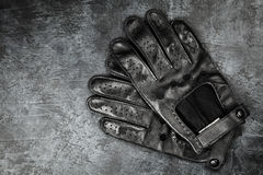 Pair of driving gloves Stock Photos