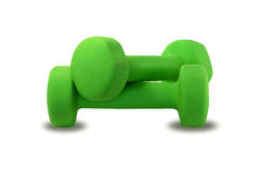 Pair of dumbbells Royalty Free Stock Images
