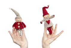 Pair of dwarves Stock Photography