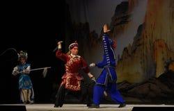 "pair exercise- Beijing Opera"" Women Generals of Yang Family"" Stock Images"