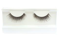 Pair of false eyelashes Stock Photo