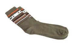 Pair of fashionable socks Stock Photography