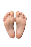 Pair of feet Royalty Free Stock Photos
