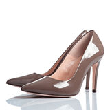 Pair of female high heel shoes Royalty Free Stock Image