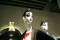 Pair of female mannequins Stock Image