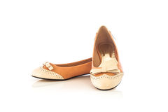 Pair of female shoe Royalty Free Stock Image