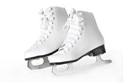 A pair of figure skates Royalty Free Stock Images