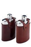 A pair of flasks Royalty Free Stock Photo