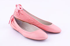 A pair of flat shoes Stock Images