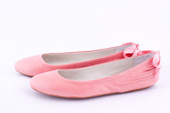A pair of flat shoes Royalty Free Stock Image