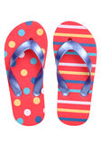Pair of flip flop sandals Stock Image