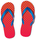 Pair of flip flops Stock Photo
