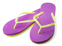 Pair of flip flops.  Stock Image