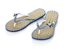 Pair of flip-flops Stock Photography