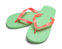 Pair of Flip Flops Royalty Free Stock Photo