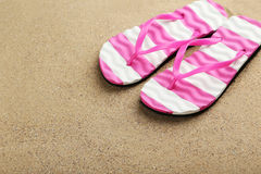 Pair of flip flops Royalty Free Stock Photography