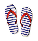 Pair of flip-flops. Vector illustration. Stock Image