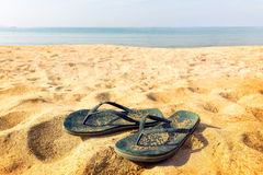 A pair of flipflops Stock Image