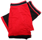 Pair Of Folded Men's Boxer Briefs Stock Image