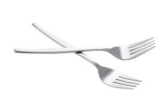 Pair of Forks Royalty Free Stock Images