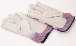 A pair of gardening or industrial gloves. Royalty Free Stock Photography