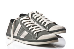 A pair of generic sneakers Royalty Free Stock Images
