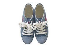 A pair of generic sneakers Stock Photos