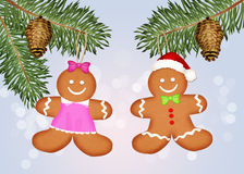 Pair of ginger little man Stock Photo