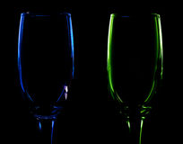 Pair of glass Stock Images