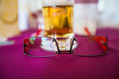 pair of glasses Stock Photos