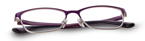 Pair of glasses. On white background. Clipping Path royalty free stock image