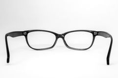 Pair of glasses viewed from behind Royalty Free Stock Photo
