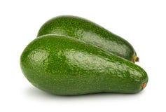 Pair of green avocado Royalty Free Stock Photography