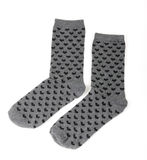 Pair of grey socks Royalty Free Stock Photography