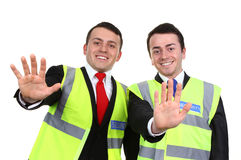 A pair of guards Royalty Free Stock Photos