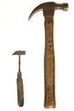Pair of hammers Royalty Free Stock Photos