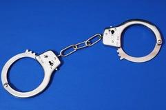 Pair of Handcuffs Stock Photo