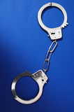 Pair of Handcuffs Stock Photography