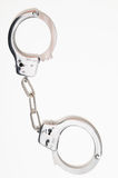 Pair of Handcuffs Stock Images