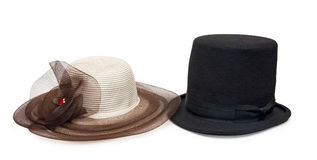 Pair of hats Stock Photo