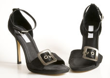 A pair of high heel sandals Royalty Free Stock Images