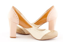 A pair of high heel shoe Royalty Free Stock Image