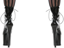 A pair of high heels Royalty Free Stock Photos