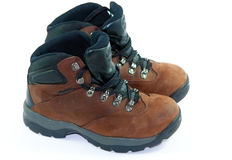 A pair of hiking boots Royalty Free Stock Photography