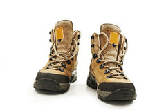 A pair of hiking boots Stock Photography