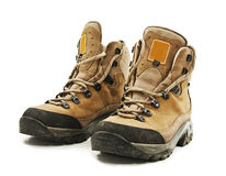 A pair of hiking boots Stock Image