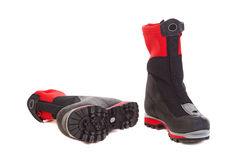 A pair of hiking boots. Royalty Free Stock Photo