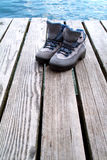 A pair of hiking boots Royalty Free Stock Photo