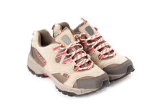 A pair of hiking shoes Royalty Free Stock Image