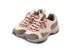 A pair of hiking shoes Royalty Free Stock Images